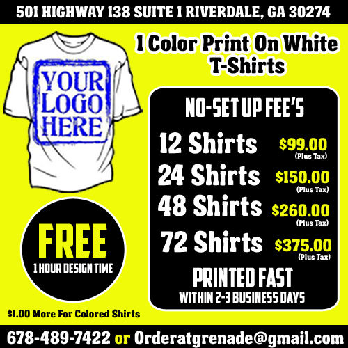 04fe2e1b ... and large orders of t shirts, baseball t shirts, and team apparel shirts.  Our customer service can help you get the custom printed shirts you need.